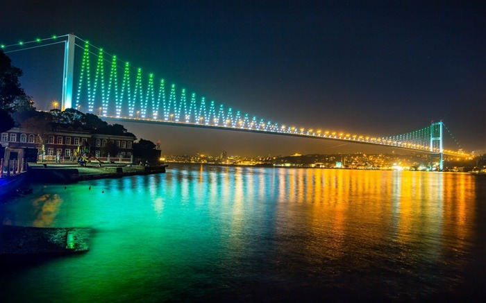 bosphorus bridge istanbul-Cities Desktop Wallpaper Views:4585