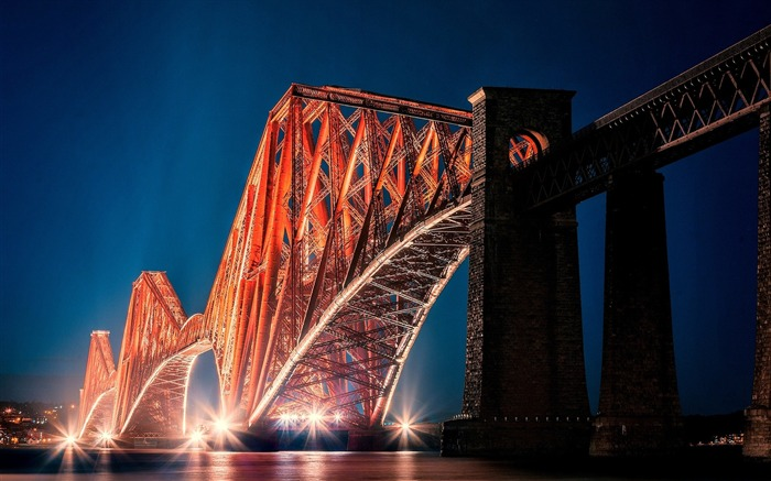 the forth bridge edinburgh-Cities Desktop Wallpaper Views:1588