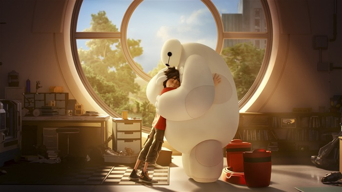 Big Hero 6 Anime HD desktop wallpaper Views:10056