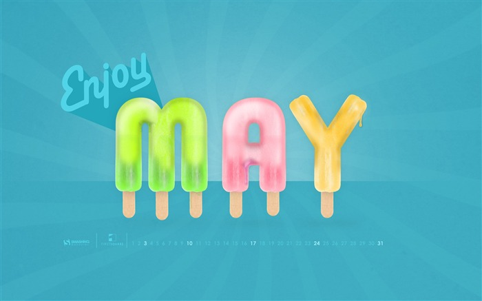 Enjoy May-May 2015 Calendar Wallpaper Views:2625