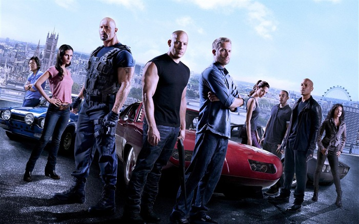 Fast Furious 7 Movie 2015 HD Desktop Wallpaper Views:15944