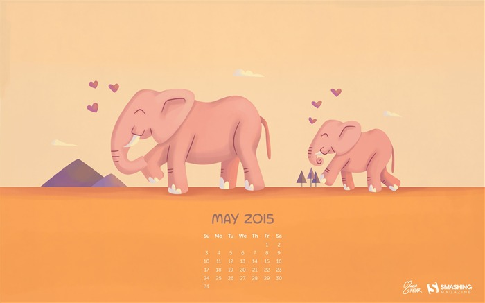 I will Always Guide You-May 2015 Calendar Wallpaper Views:2607