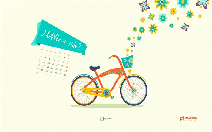 MAYbe A Ride-May 2015 Calendar Wallpaper Views:3280