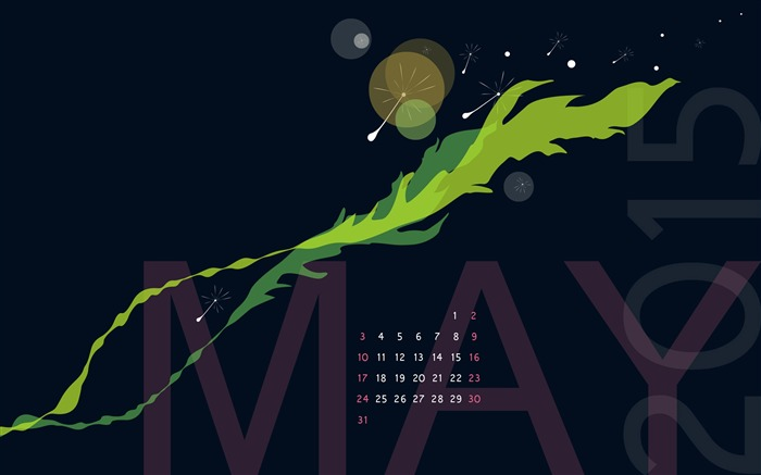 Make A Wish-May 2015 Calendar Wallpaper Views:2621