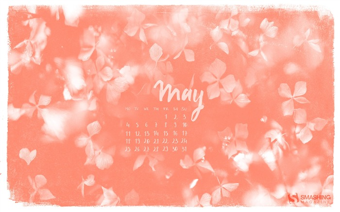May Is Here-May 2015 Calendar Wallpaper Views:2619