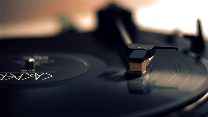 Vinyl Records Theme HD Desktop Wallpaper Views:12986