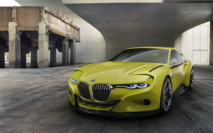 2015 BMW 30 CSL Hommage Auto HD Wallpaper Views:11086