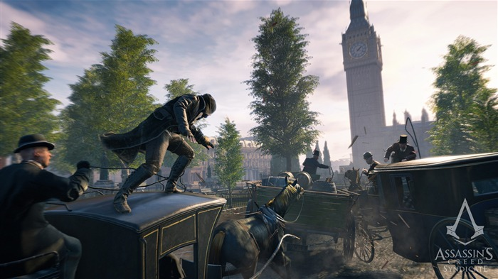 Assassins Creed Syndicate 2015 HD Game Wallpaper 03 Views:1997