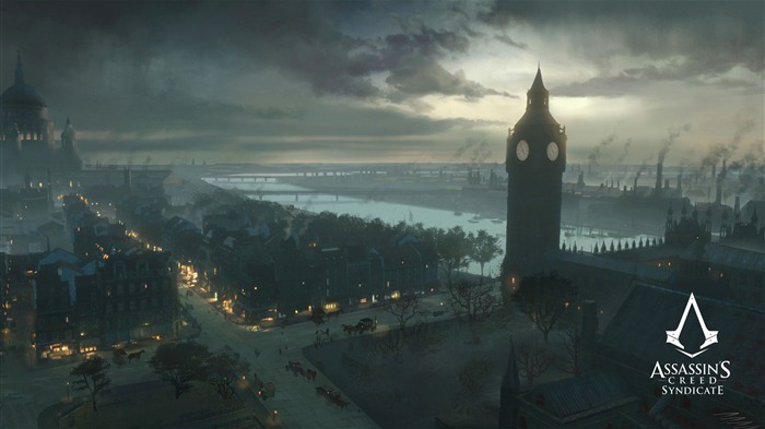 Assassins Creed Syndicate 2015 HD Game Wallpaper 08 Views:2252