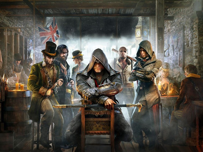Assassins Creed Syndicate 2015 HD Game Wallpaper 10 Views:4146