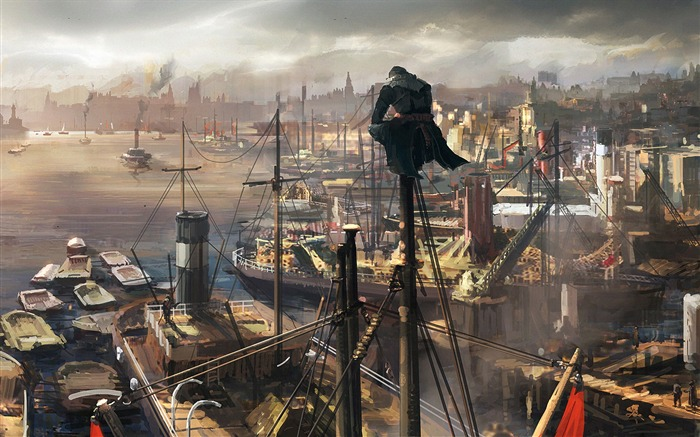Assassins Creed Syndicate 2015 HD Game Wallpaper 16 Views:1261
