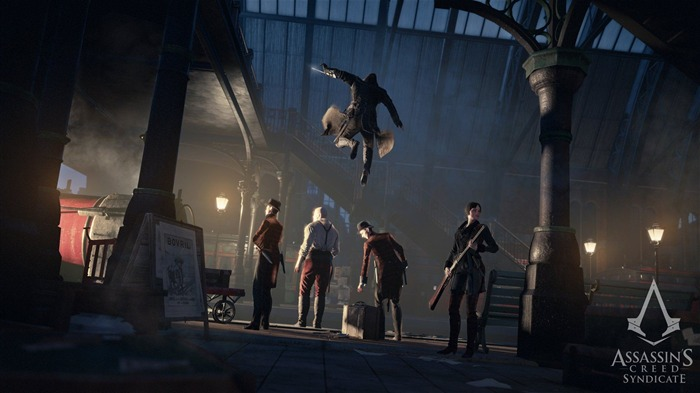 Assassins Creed Syndicate 2015 HD Game Wallpaper 18 Views:885