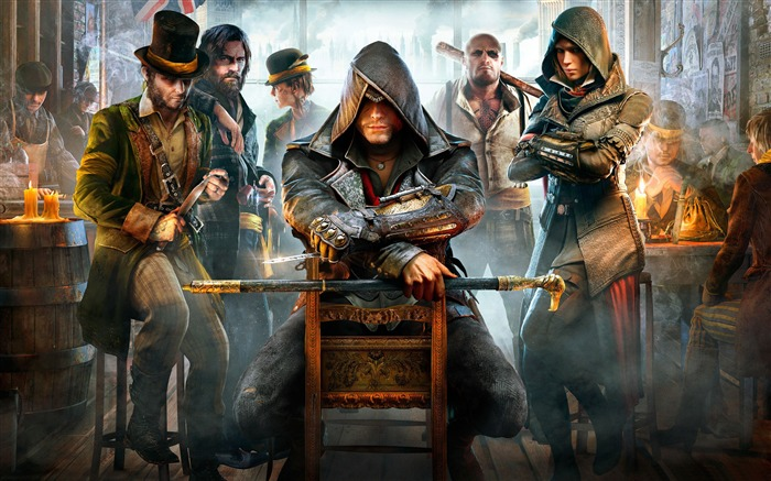 Assassins Creed Syndicate 2015 HD Game Wallpaper Views:7252