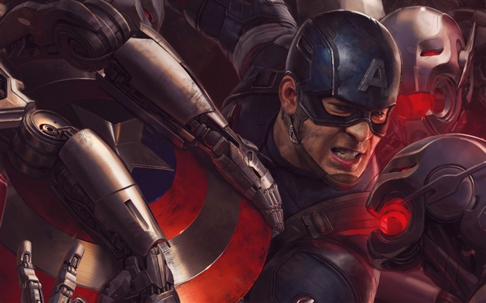 Avengers Age of Ultron 2015 Movie HD Wallpaper 03 Views:2190