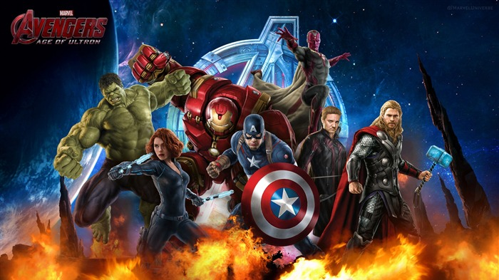 Avengers Age of Ultron 2015 Movie HD Wallpaper 05 Views:2186