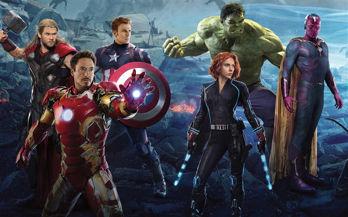 Avengers Age of Ultron 2015 Movie HD Wallpaper 20 Views:1368