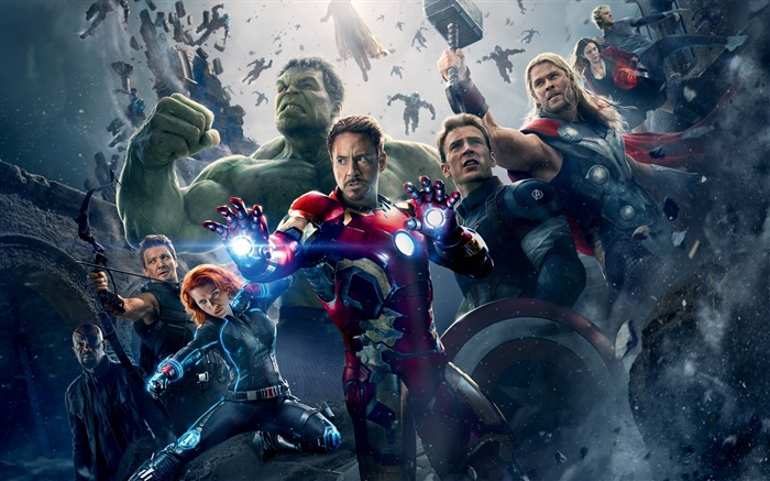 Avengers Age of Ultron 2015 Movie HD Wallpaper Views:6425