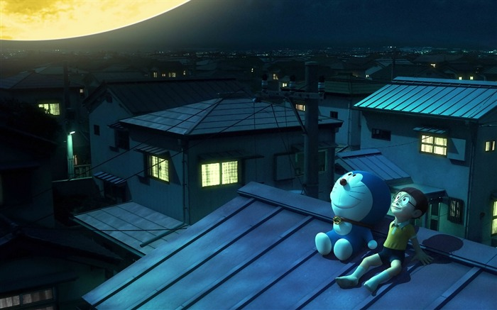 Stand By Me Doraemon Movie HD Widescreen Wallpaper 21 Views:2645