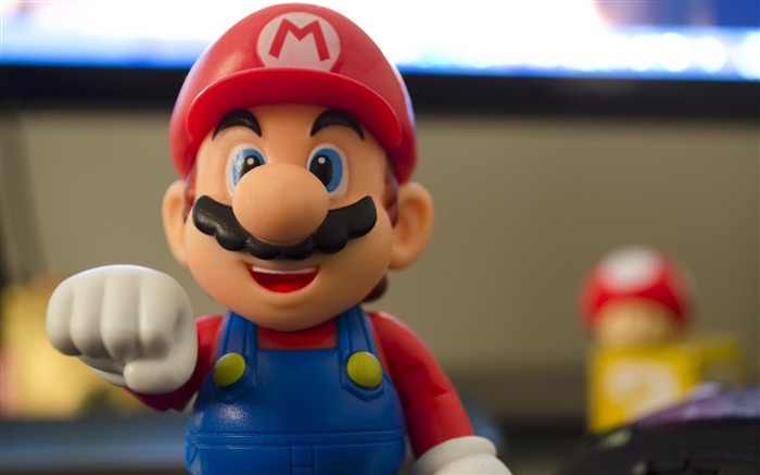 Super mario figurine-High Quality HD Wallpaper Views:2295