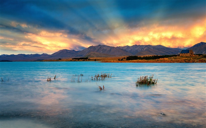 Most Beautiful New Zealand Nature Landscape HD Wallpaper Views:10592