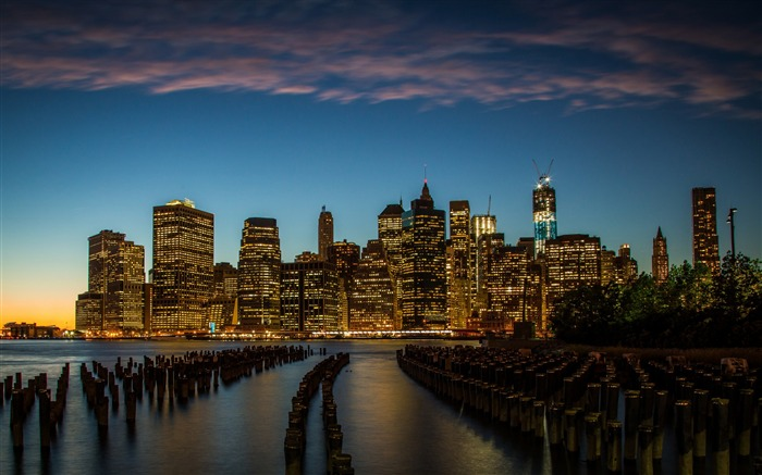 New York downtown-Cities HD Wallpapers Views:2104