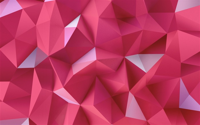 pink triangles-High Quality HD Wallpaper Views:3035