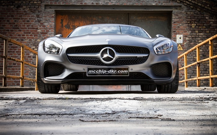 2015 Mcchip Dkr Mercedes AMG GT HD Wallpaper Views:3990