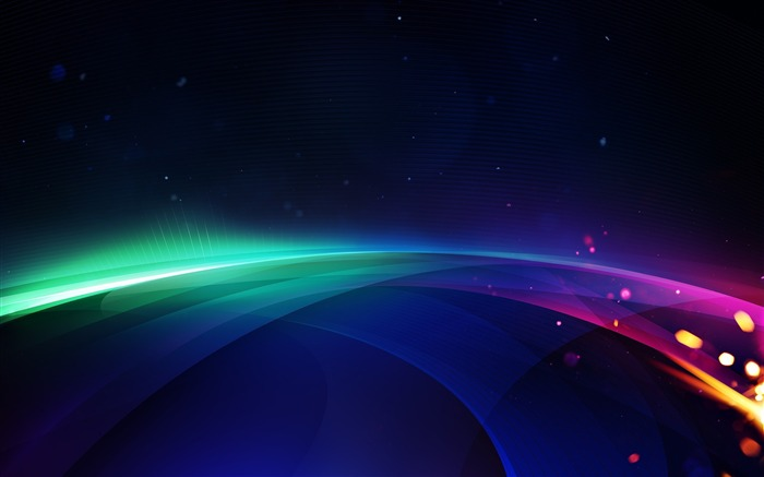 Colorful curves-High Quality HD Wallpaper Views:2207