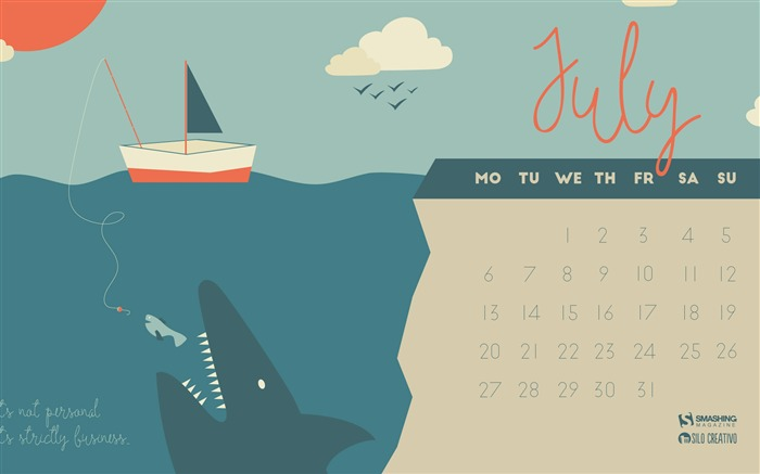 Its Strictly Business-July 2015 Calendar Wallpaper Views:1552
