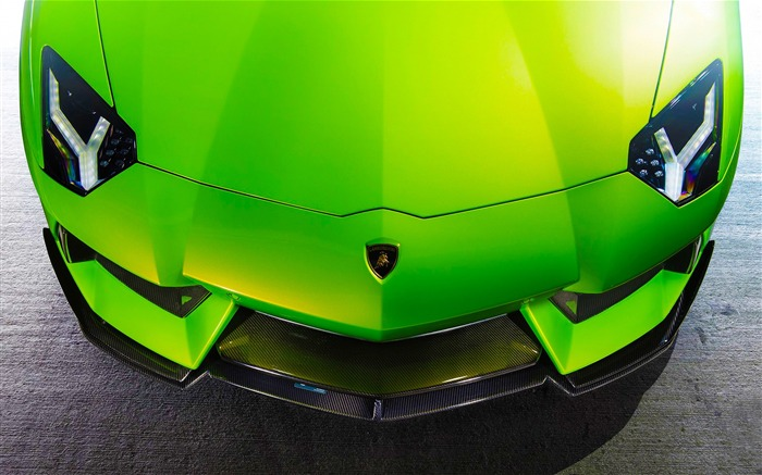 Luxury brand Lamborghini supercar theme wallpaper Views:3840