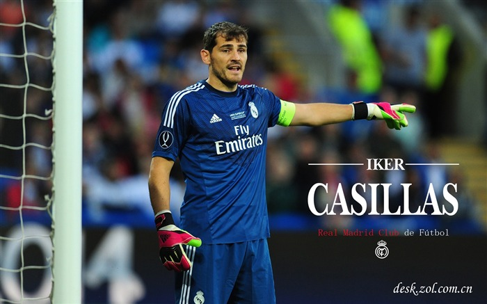 Real Madrid star Iker Casillas HD Wallpaper Views:6629