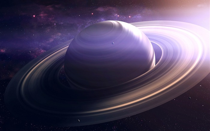 planet with rings-High Quality HD Wallpaper Views:1692
