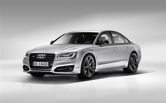 2016 Audi S8 Plus Silver HD Wallpaper Views:9873