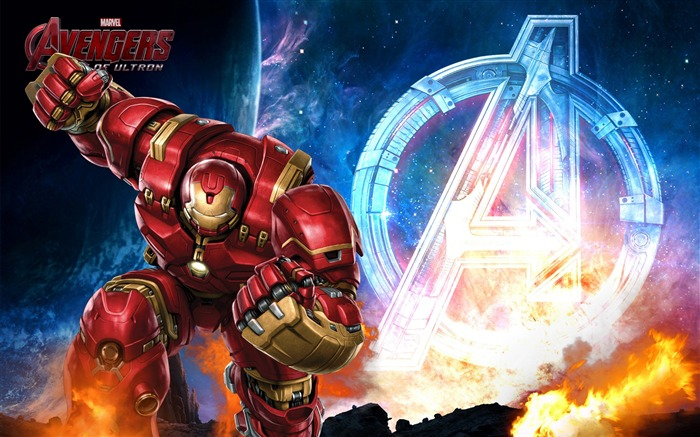 Iron man hulkbuster in avengers-Movie HD Wallpaper Views:2495
