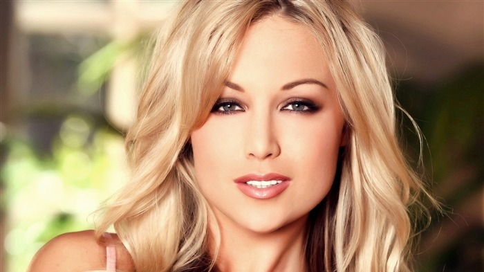 blonde eyes face hair-HD photo wallpaper Views:2011