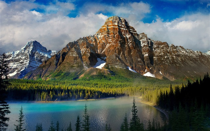 mountains lake nature-Scenery HD Wallpapers Views:1774