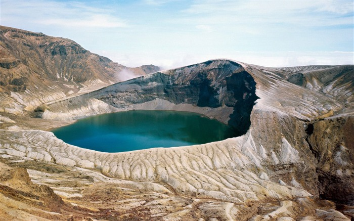 okama crater lake-Nature Wallpaper Views:2500