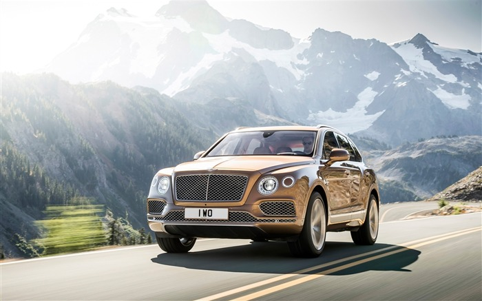 2016 Bentley Bentayga Luxury HD Wallpaper Views:6252