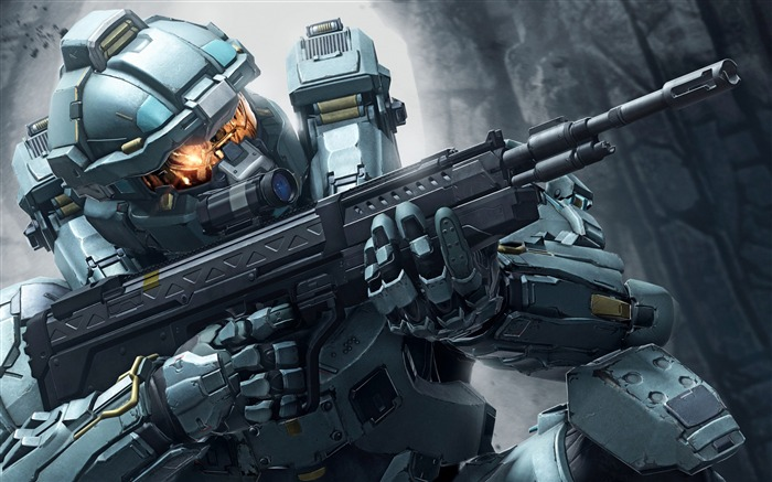Halo 5 Guardian Game HD Wide Wallpaper Views:4041 Date:9/20/2015 2:17:24 AM
