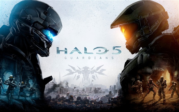 Halo 5 Guardian Game HD Widescreen Wallpaper Views:16188
