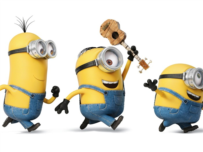 Minions playing-Movie Wallpaper Views:6889 Date:9/19/2015 12:24:07 PM