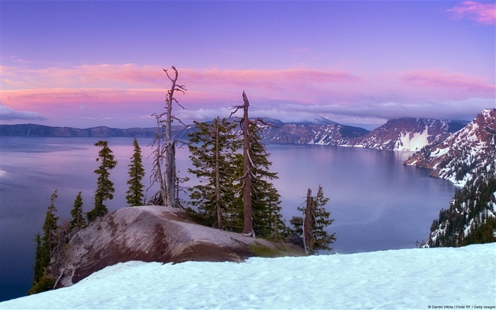 United States Crater Lake-Windows 10 Wallpaper Views:3452