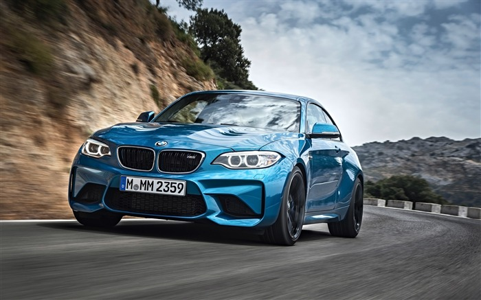 2016 BMW M2 Coupe Auto HD Wallpaper Views:12095