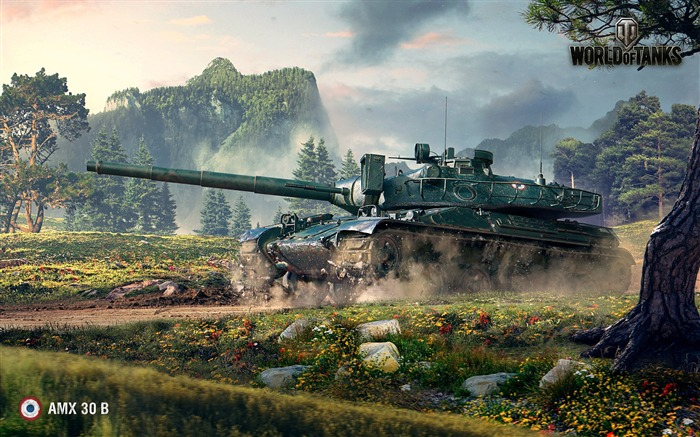 Amx 30b world of tanks-Game HD Wallpaper Views:2244