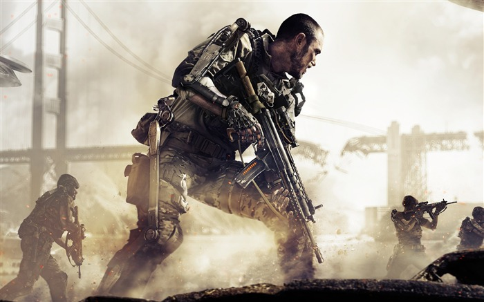 Call of duty advanced warfare-Game HD Wallpaper Views:1952