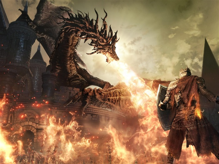 Dark souls 2016-Game HD Wallpaper Views:2200