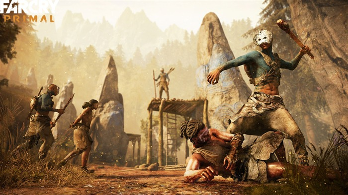 Far Cry Primal 2016 Game Desktop Wallpaper 03 Views:1798