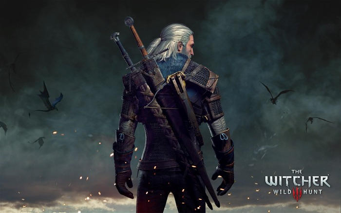 Geralt The Witcher 3-Game HD Wallpaper Views:3240