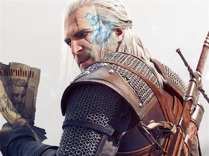 Geralt The Witcher 3-Game HD Wallpapers Views:1905