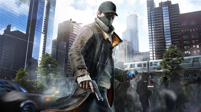 Watch Dogs Aiden Pearce-Game HD Wallpapers Views:1391